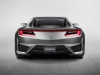 thumbs 2015 acura nsx concept rear silver 2015 Acura NSX Concept   Smart Luxury Supercar